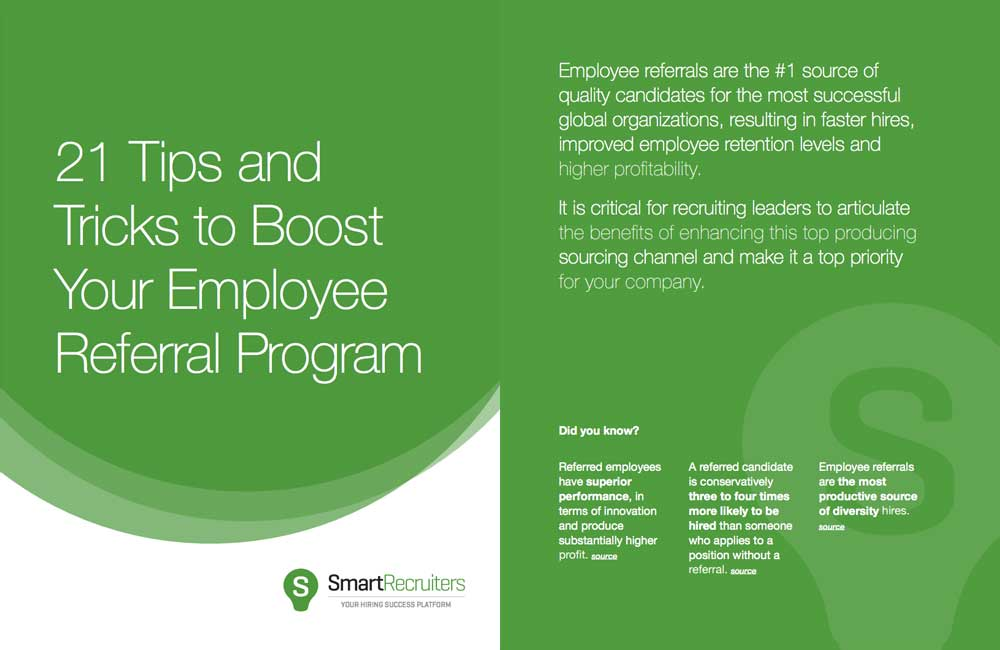 21 Tips and Tricks to Boost Your Employee Referral Program
