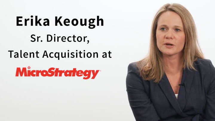 Erika Keough from MicroStrategy