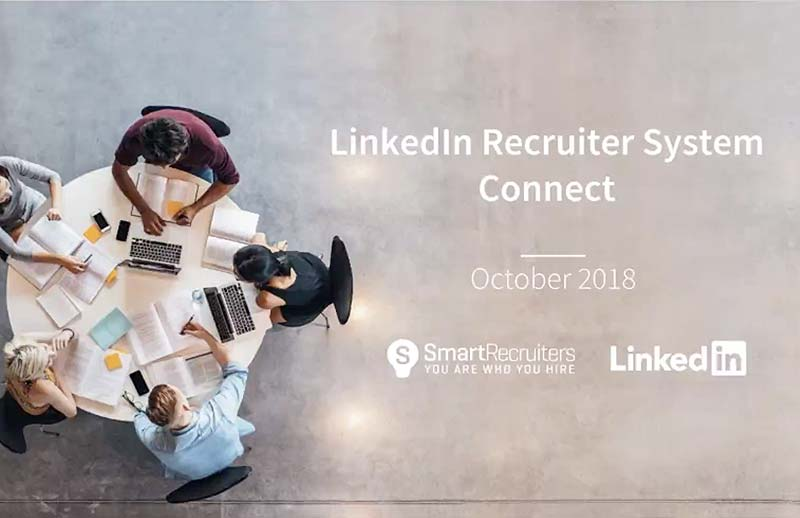 Webinar - LinkedIn Recruiter Connect